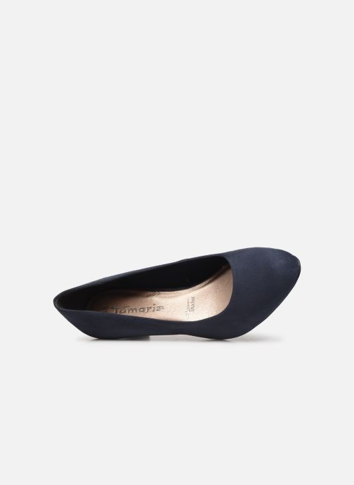 Pumps Tamaris Meliana Blauw links