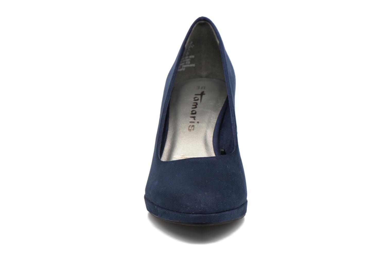 Escarpins Tamaris Miriel Bleu vue portées chaussures