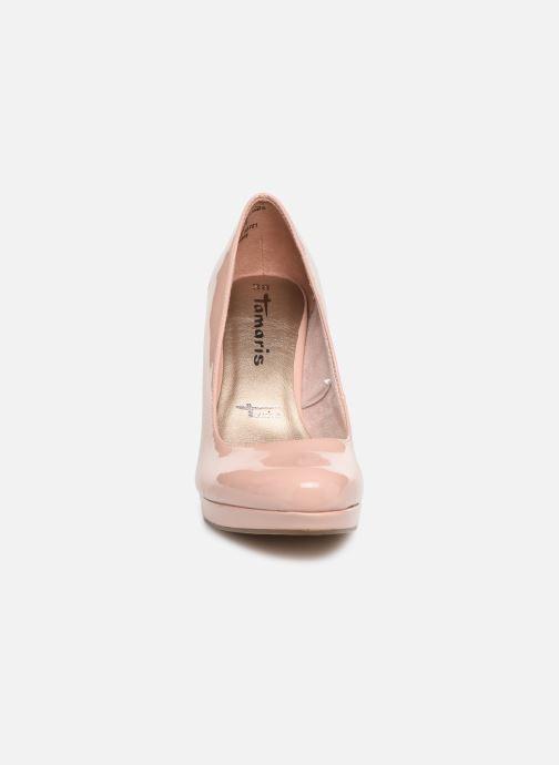 Escarpins Tamaris Olorine Rose vue portées chaussures