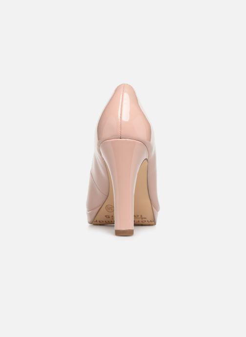 Zapatos de tacón Tamaris Olorine Rosa vista lateral derecha