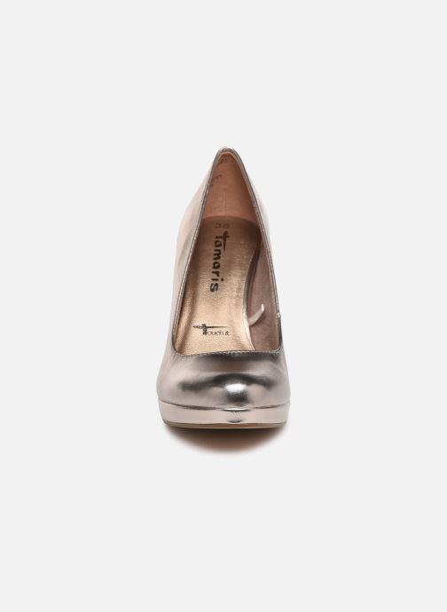Escarpins Tamaris Olorine Or et bronze vue portées chaussures