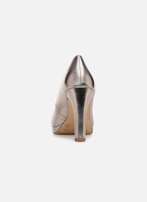 Escarpins Tamaris Olorine Or et bronze vue droite