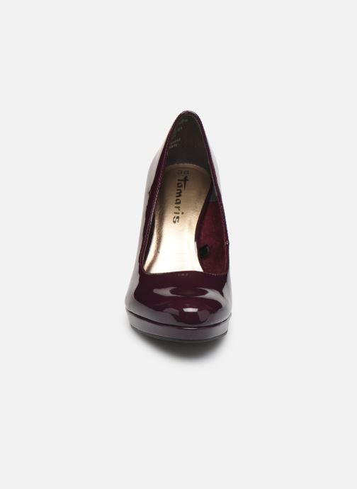 Escarpins Tamaris Olorine Violet vue portées chaussures