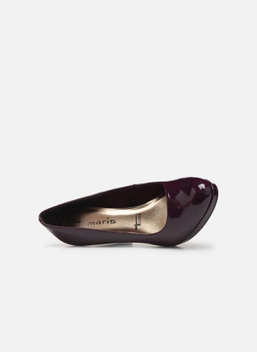 High heels Tamaris Olorine Purple view from the left