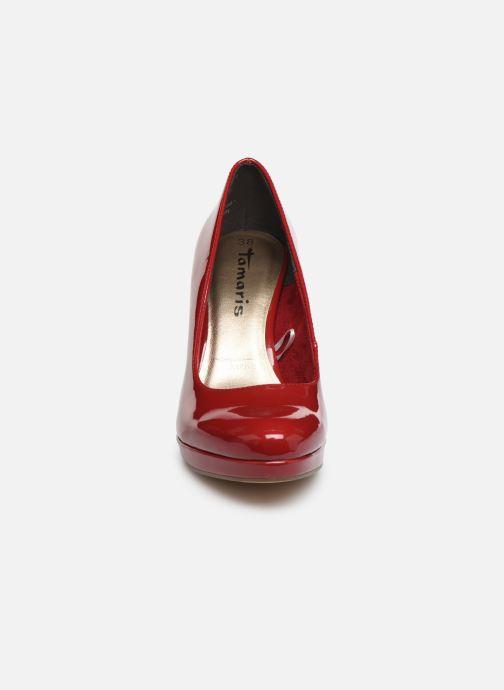 Escarpins Tamaris Olorine Rouge vue portées chaussures