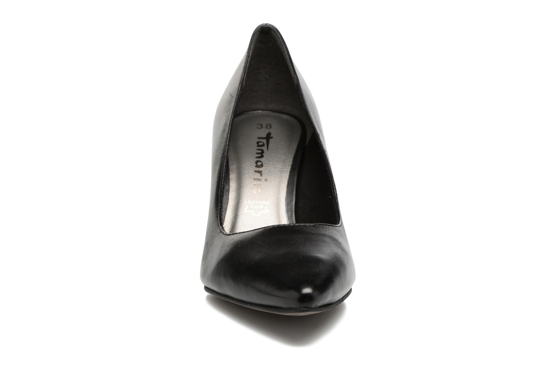 Escarpins Tamaris Silana Noir vue portées chaussures
