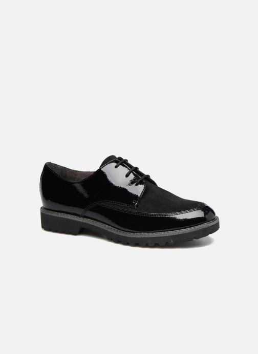 4f86ea3a9e9a Snøresko Tamaris Varda Sort detaljeret billede af skoene