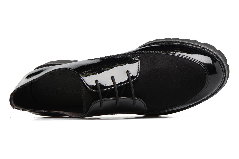 Chaussures à lacets Tamaris Varda Noir vue gauche