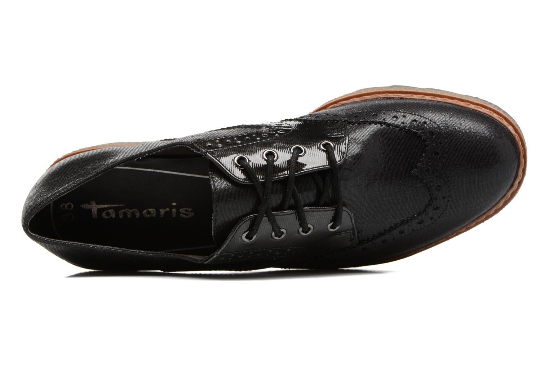 Chaussures à lacets Tamaris Wondrel Noir vue gauche