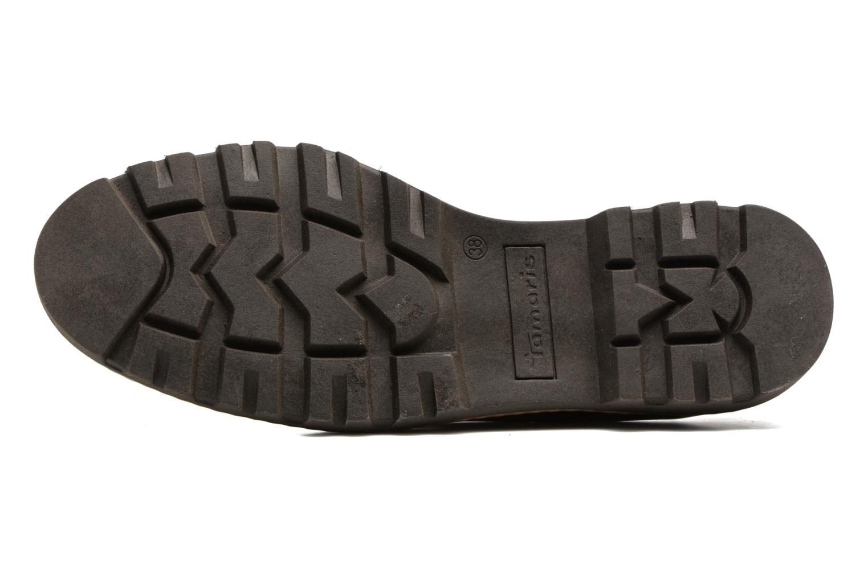 Chaussures à lacets Tamaris Yndris Bordeaux vue haut
