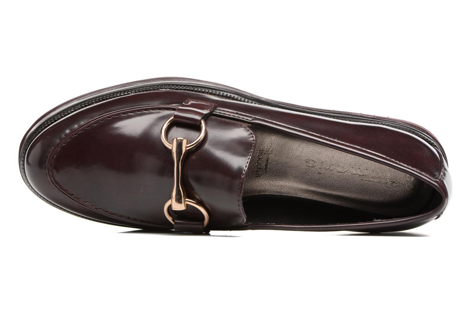 Loafers Tamaris Arwena Burgundy view from the left