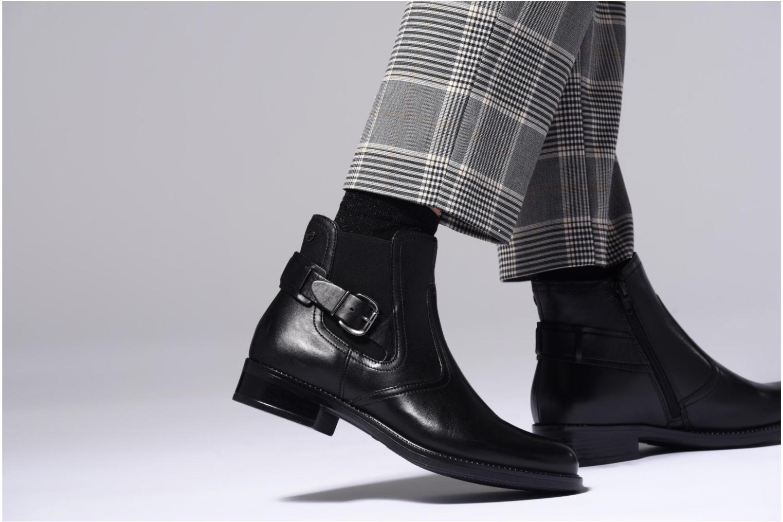 Bottines et boots Tamaris Artanis Noir vue bas / vue portée sac