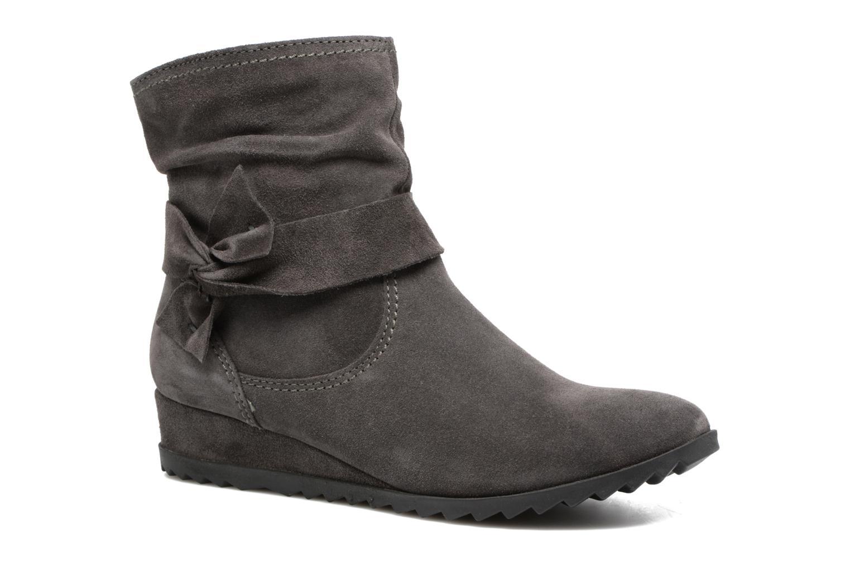 Ankle boots Tamaris Ashana Grey detailed view/ Pair view