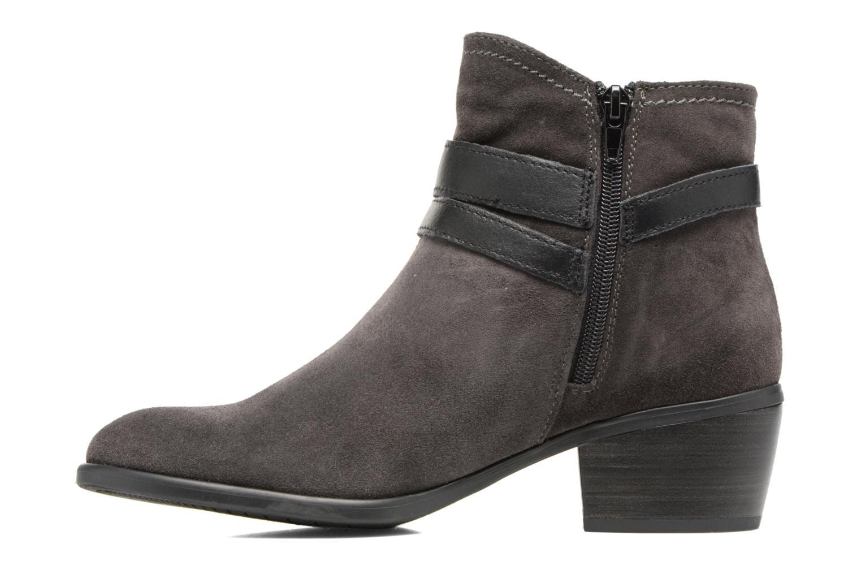 Boots en enkellaarsjes Tamaris Athellen Grijs voorkant