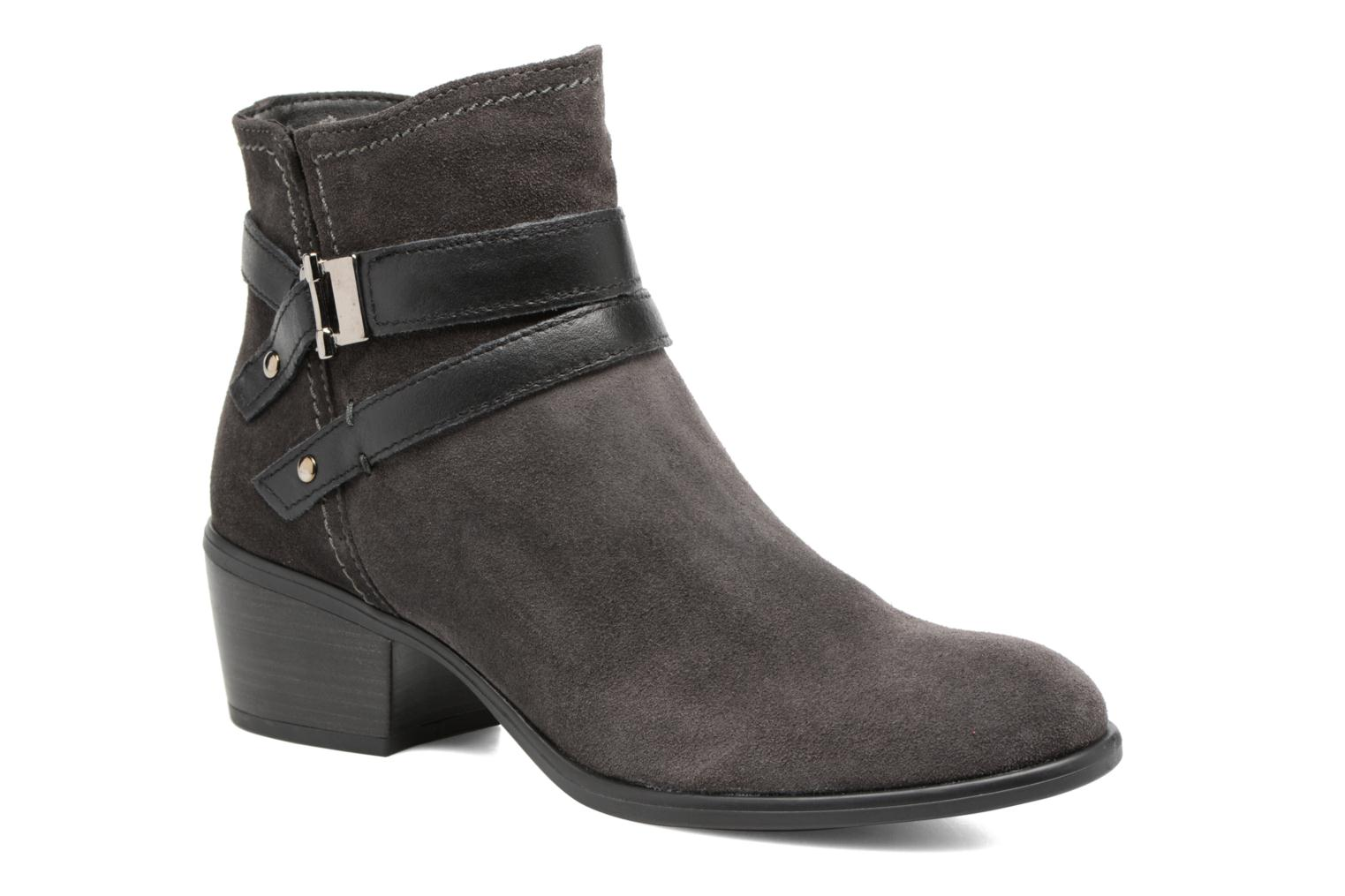 Ankle boots Tamaris Athellen Grey detailed view/ Pair view