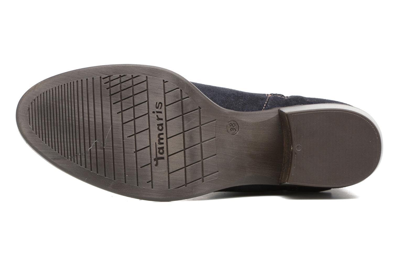 Bottines et boots Tamaris Athellen Bleu vue haut