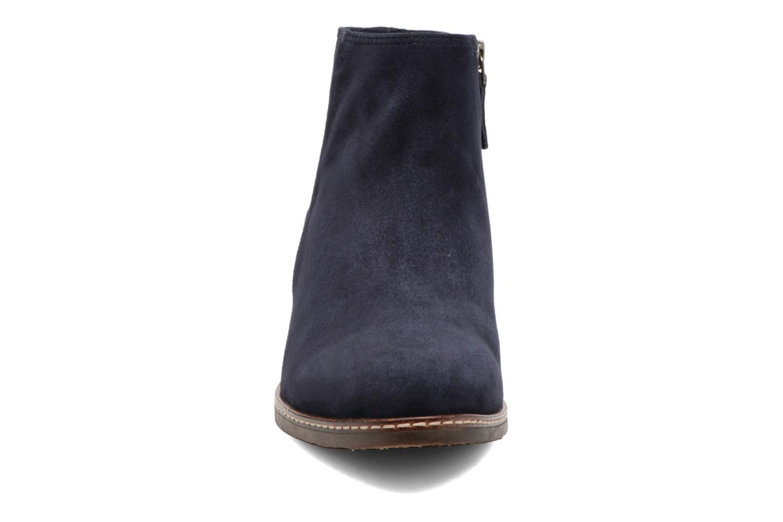 Ankle boots Tamaris Celebrian Blue model view