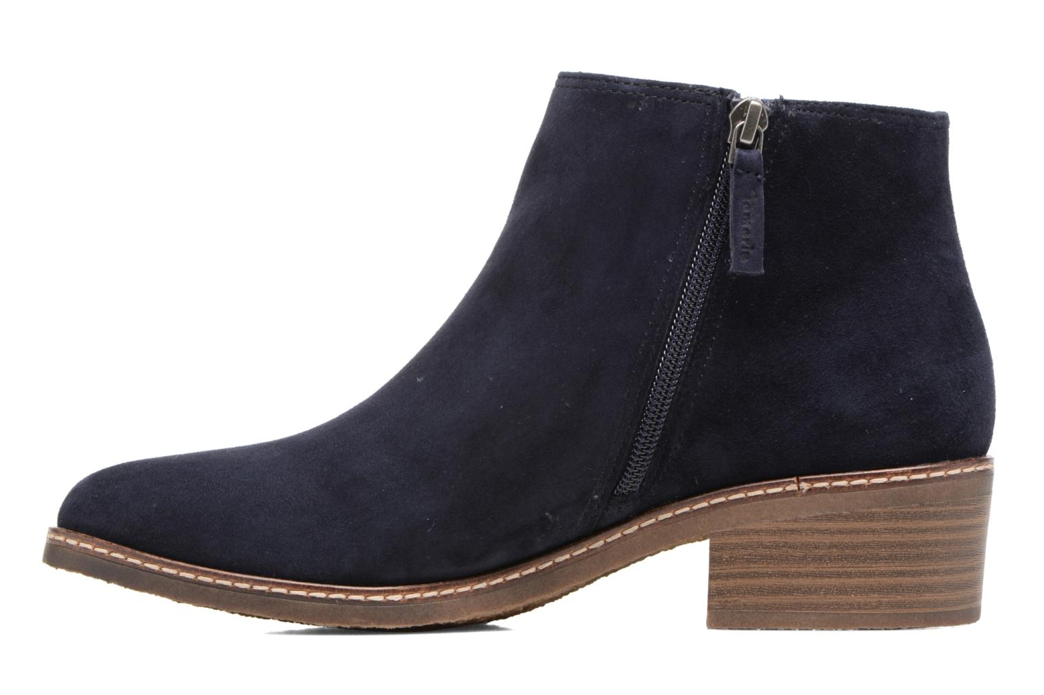 Ankle boots Tamaris Celebrian Blue front view