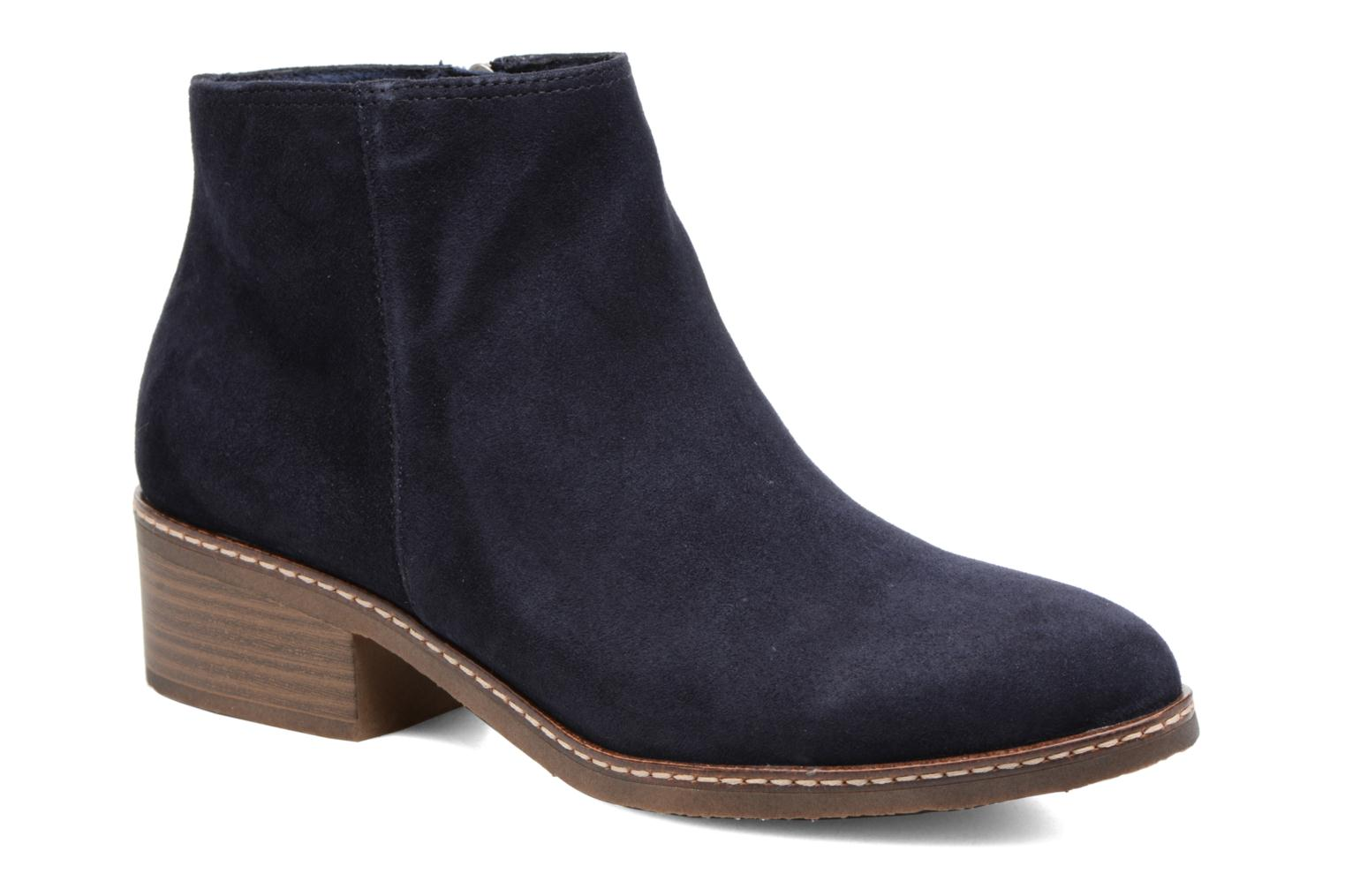 Ankle boots Tamaris Celebrian Blue detailed view/ Pair view