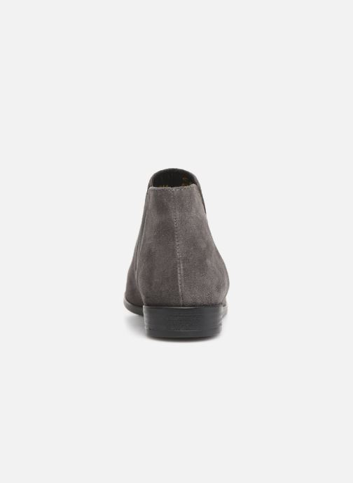 Ankle boots Tamaris Celeanar Grey view from the right