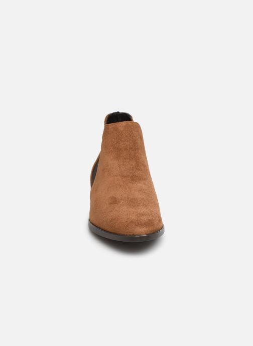 Bottines et boots Tamaris Celeanar Marron vue portées chaussures