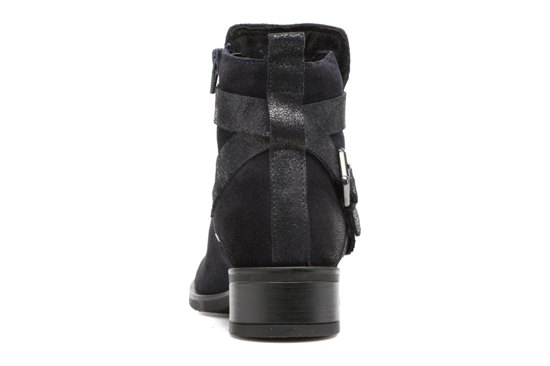 Boots en enkellaarsjes Tamaris Daenara Blauw rechts