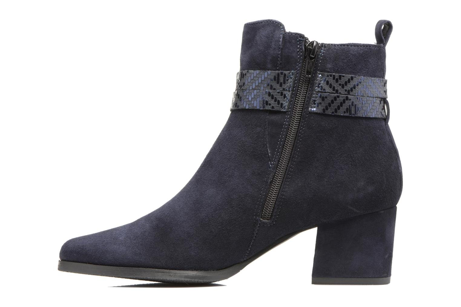 Ankle boots Tamaris Diningal Blue front view