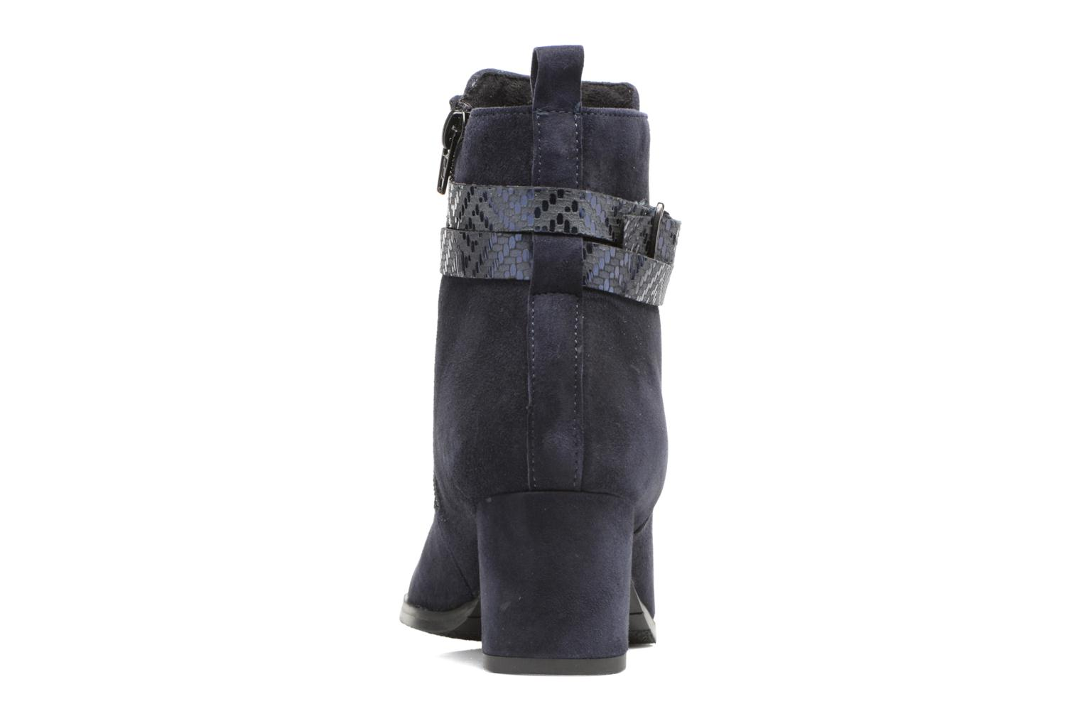 Ankle boots Tamaris Diningal Blue view from the right