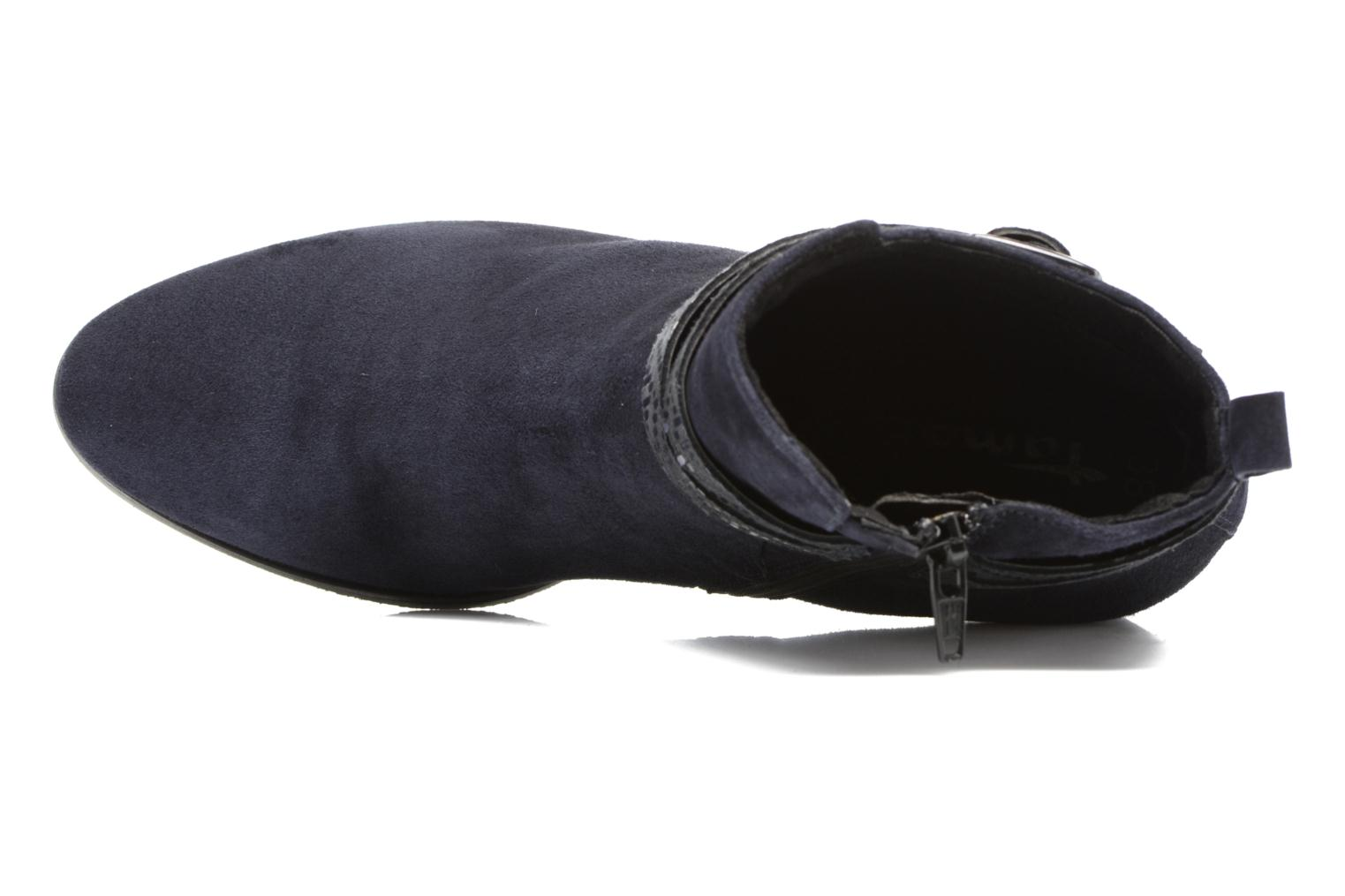 Ankle boots Tamaris Diningal Blue view from the left