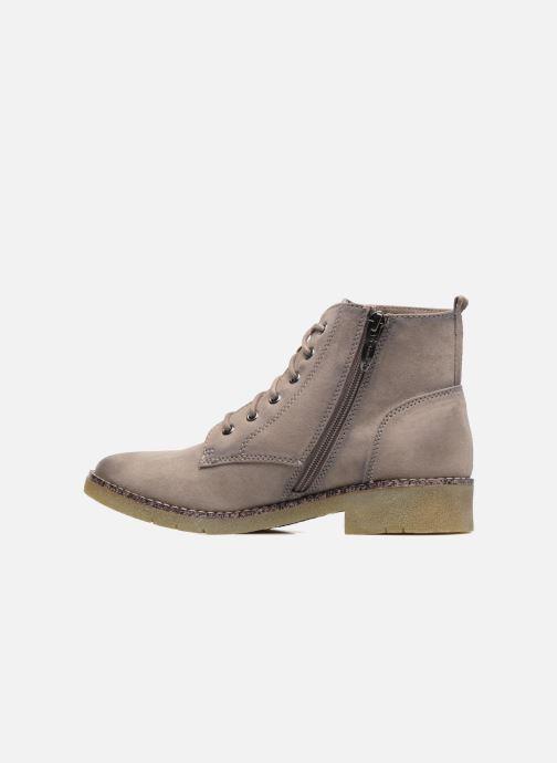 Boots en enkellaarsjes Tamaris Enetari Beige voorkant