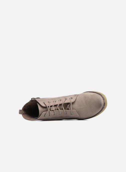 Boots en enkellaarsjes Tamaris Enetari Beige links