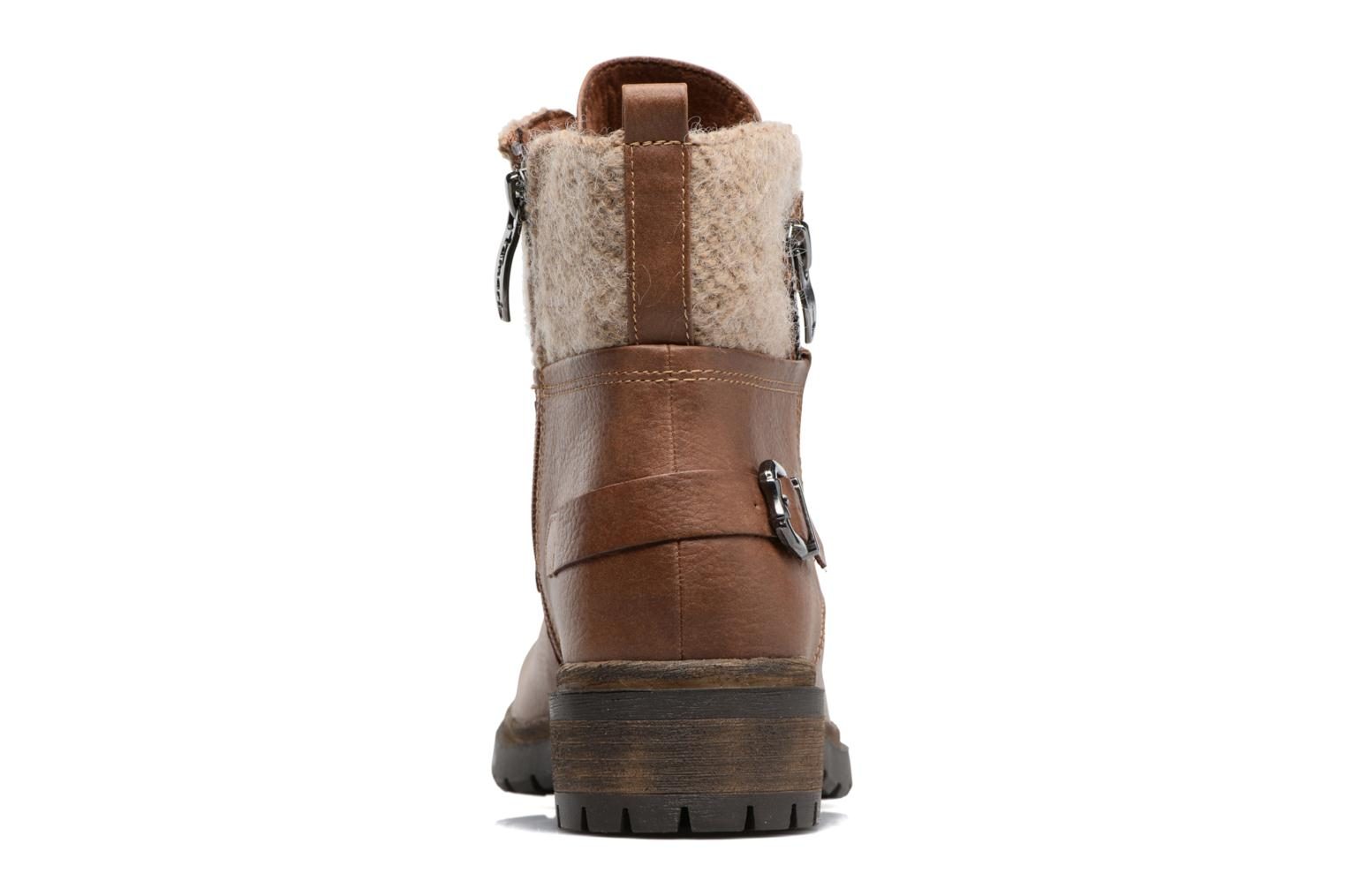 Ankle boots Tamaris Elessar Brown view from the right