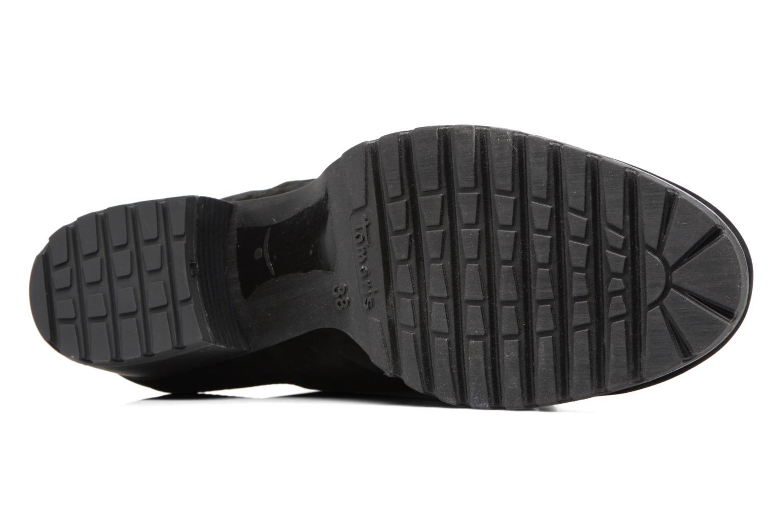 Bottines et boots Tamaris Elwinga Noir vue haut