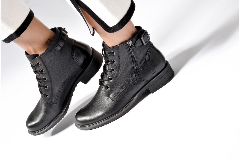 Bottines et boots Tamaris Endaria Noir vue bas / vue portée sac