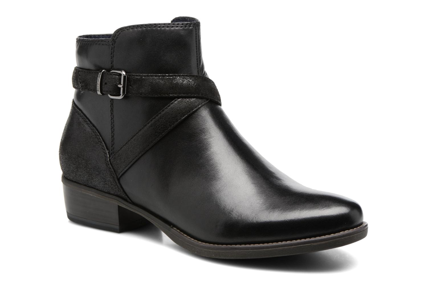 Ankle boots Tamaris Aldara Black detailed view/ Pair view