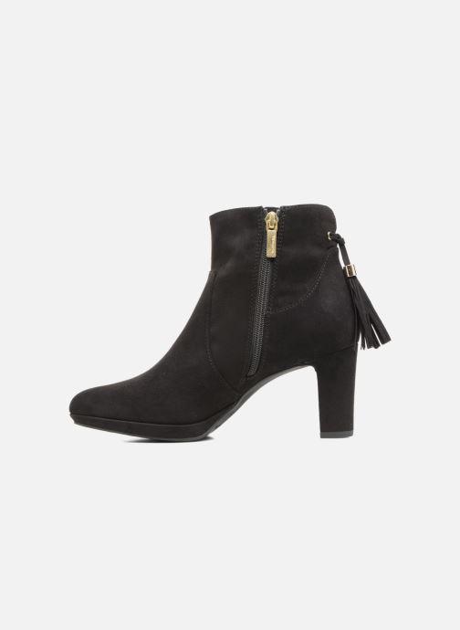 Boots en enkellaarsjes Tamaris Ancala Zwart voorkant