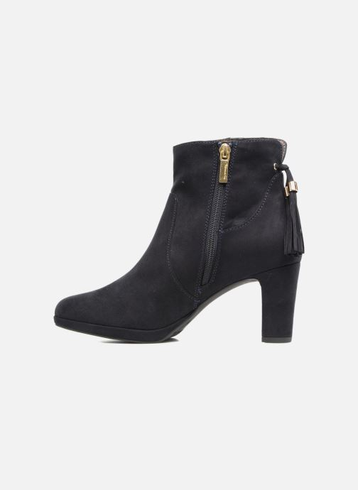 Ankle boots Tamaris Ancala Blue front view