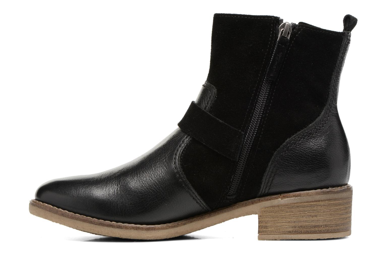 Boots en enkellaarsjes Tamaris Balani Zwart voorkant