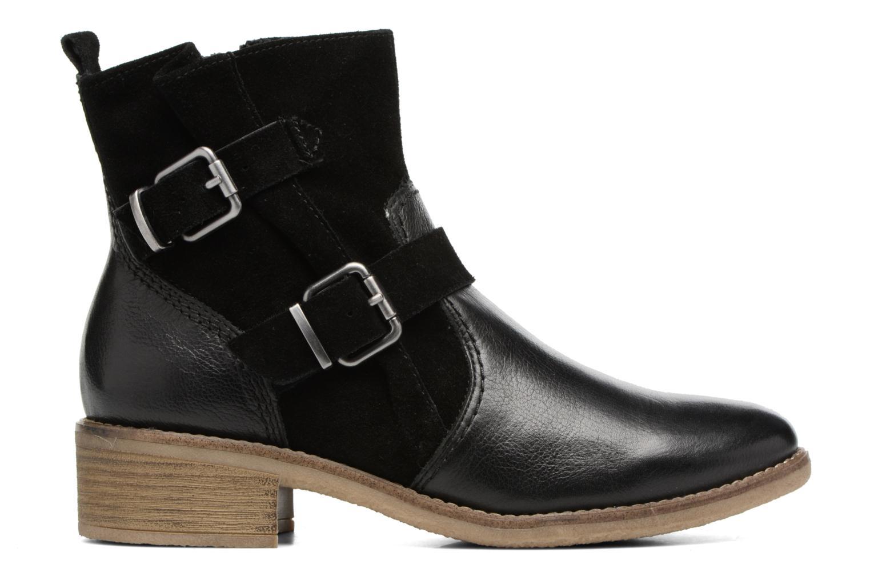 Boots en enkellaarsjes Tamaris Balani Zwart achterkant