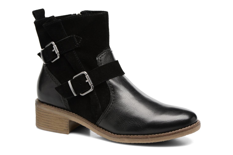 Boots en enkellaarsjes Tamaris Balani Zwart detail