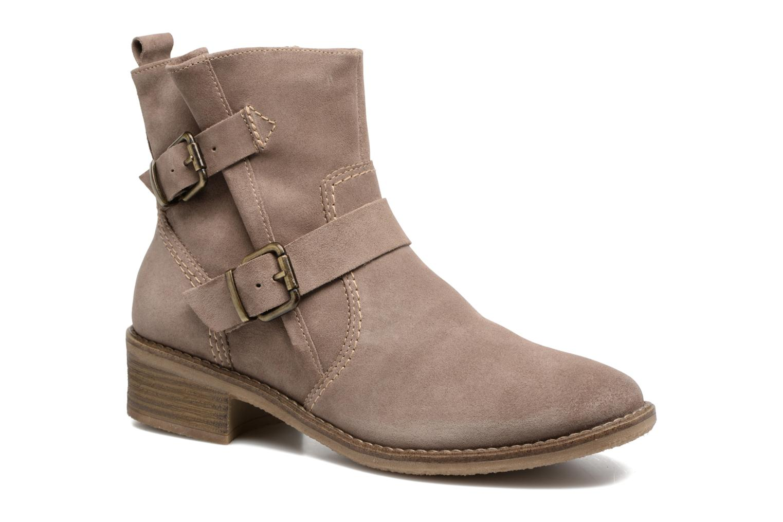 Ankle boots Tamaris Balani Beige detailed view/ Pair view
