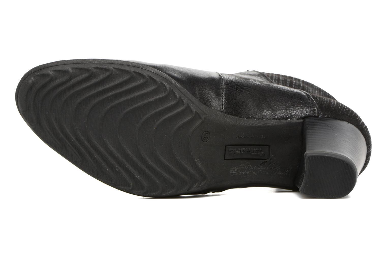Bottines et boots Tamaris Beos Noir vue haut