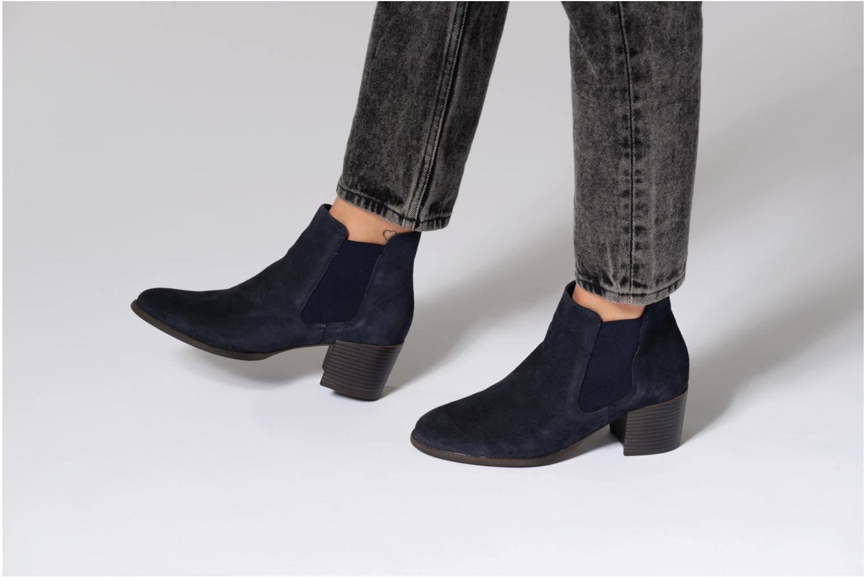 Bottines et boots Tamaris Bronweg Bleu vue bas / vue portée sac