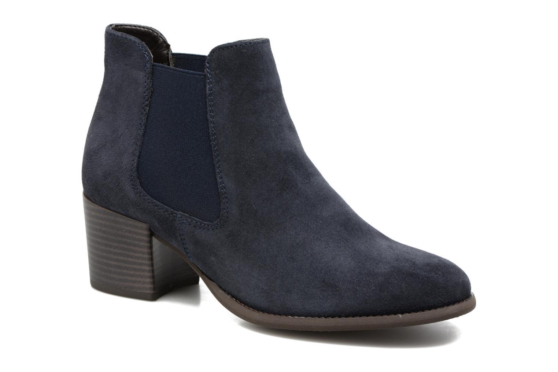 Bottines et boots Tamaris Bronweg Bleu vue détail/paire