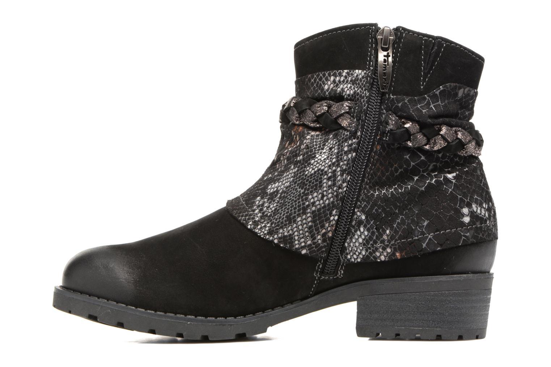 Boots en enkellaarsjes Tamaris Calion Zwart voorkant