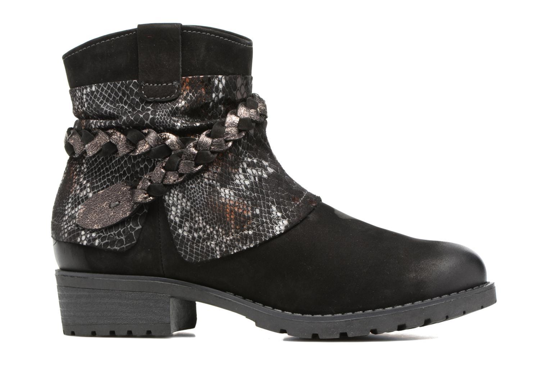 Boots en enkellaarsjes Tamaris Calion Zwart achterkant