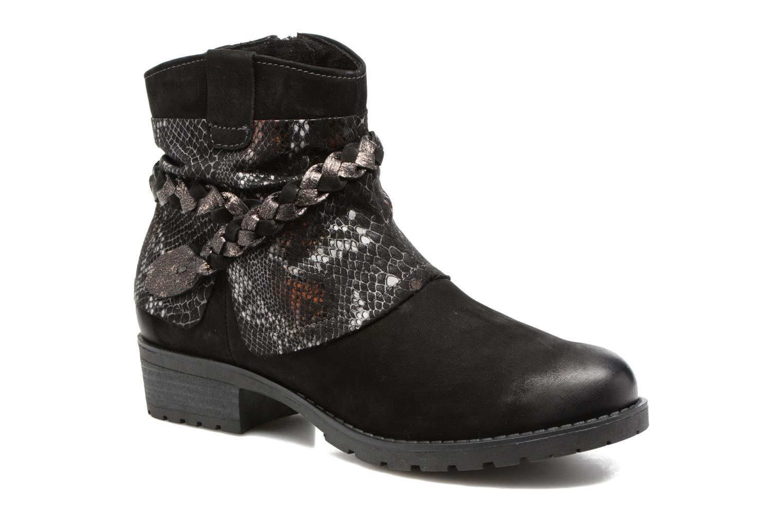 Boots en enkellaarsjes Tamaris Calion Zwart detail