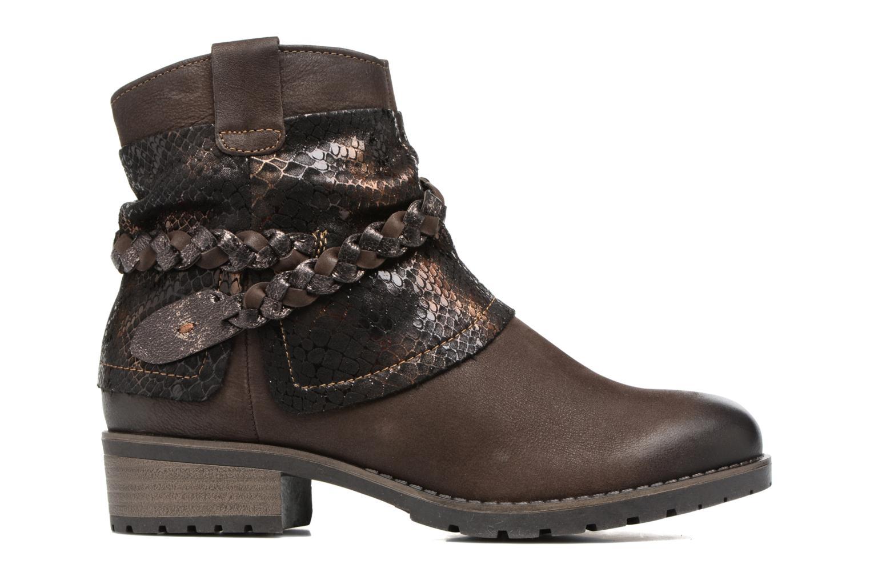 Boots en enkellaarsjes Tamaris Calion Bruin achterkant