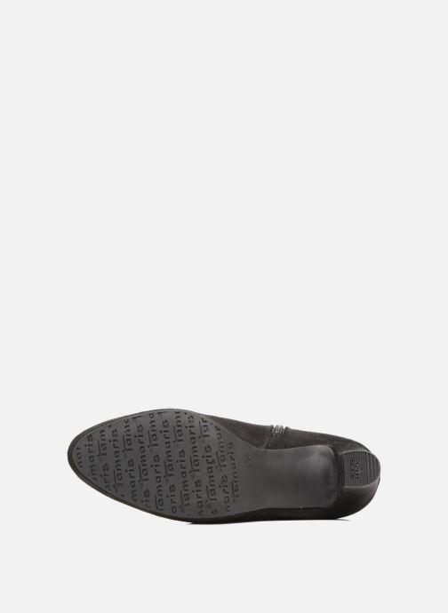 Stiefel Tamaris Finwe schwarz ansicht von oben