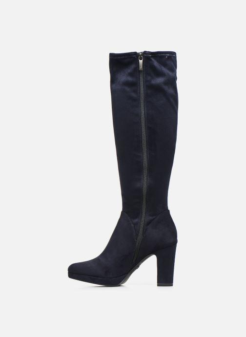 Stiefel Tamaris Finwe blau ansicht von vorne